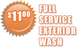 Full Service Exterior Car Wash
